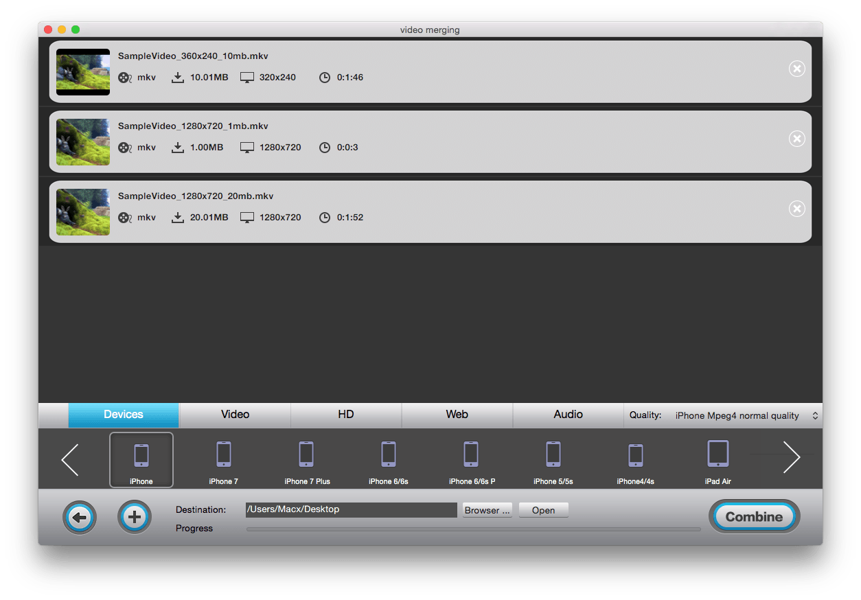 merge video mac