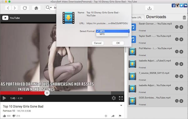 batch download videos mac